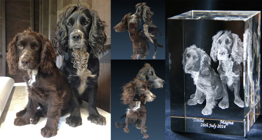 Crystalis3d Ltd - Converting your photos into 3D and laser etching into crystal glass – ever wondered how it is done?