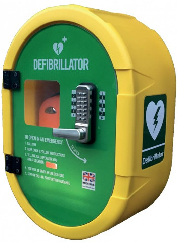 Defibrillator Database / Map